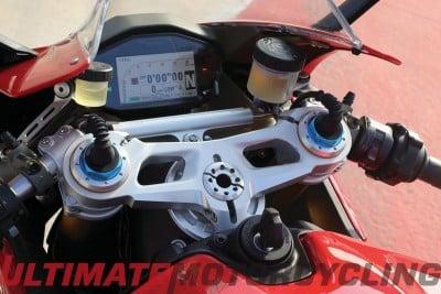2015 Ducati 1299 Panigale S Review gauges