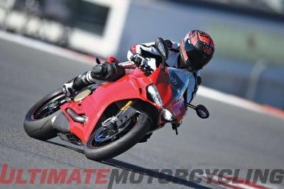 2015 Ducati 1299 Panigale lean