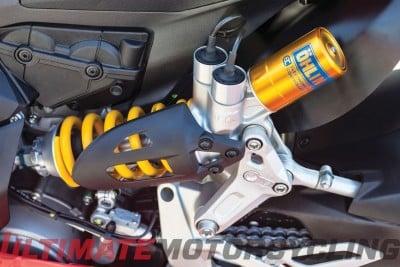 2015 Ducati 1299 Panigale Suspension