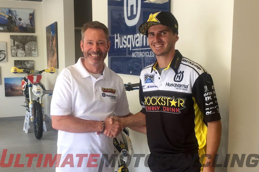 Husqvarna Signs Christophe Pourcel for 2015 Motocross