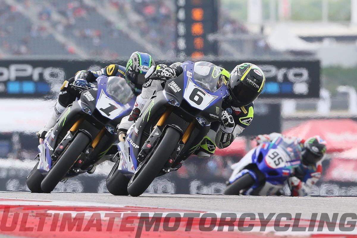 2015 Austin MotoAmerica Superbike Race 2 Results