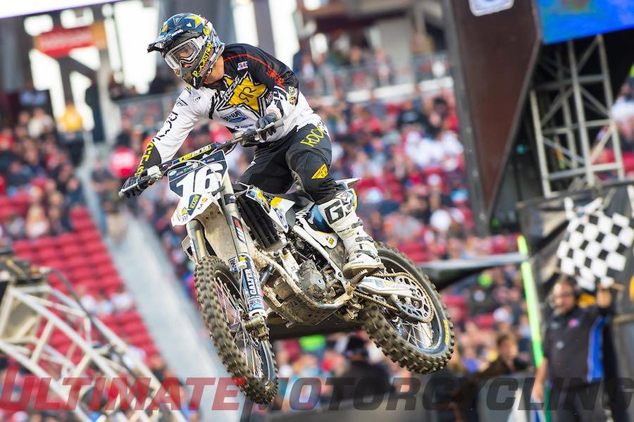 2015 Santa Clara 250SX Commentary: Upside/Downside Husqvarna Zach Osborne