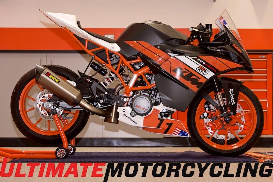 motoamerica ktm rc390 cup exposed | exclusive photos