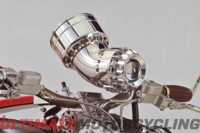 Bienville Legacy Motorcycle | Functional Mechanical Art Gauges