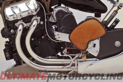 Bienville Legacy Motorcycle | Functional Mechanical Art engine