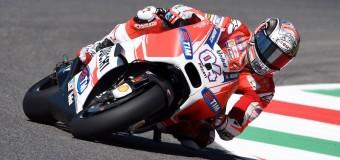Ducati's Dovizioso Tops Marquez at Mugello MotoGP Practice