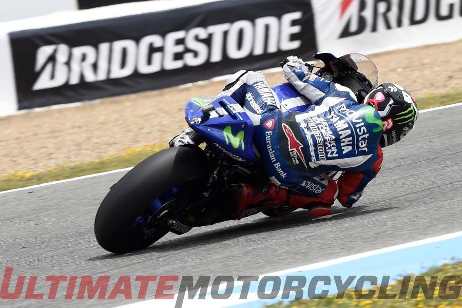 2015 Jerez MotoGP Analysis - Tire Grip & Temperatures - Yamaha Jorge Lorenzo