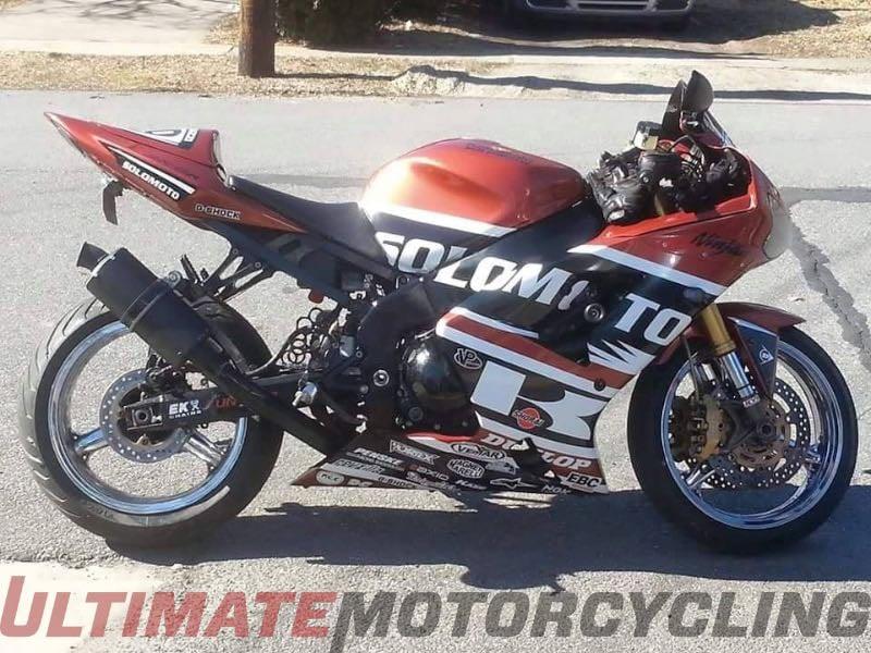 Kawasaki Ninja ZX-6R, John Caraluzzi of PA   Reader's Rides