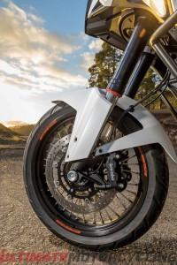 2015 KTM 1290 Super Adventure Review | Front Wheel