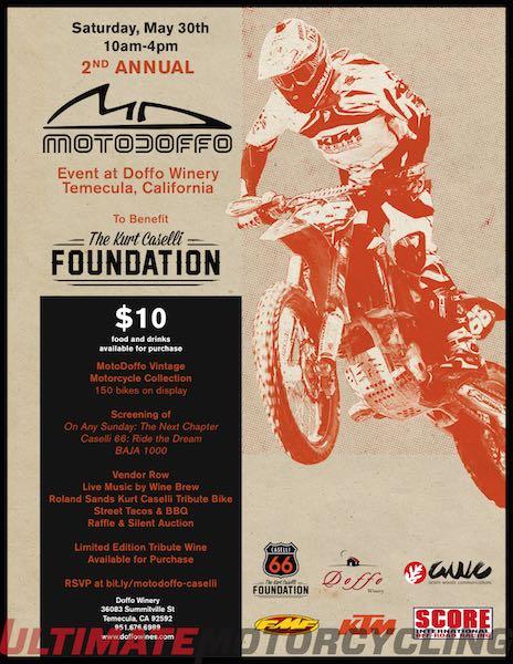 Doffo Winery to Host Kurt Caselli Foundation Fundraiser