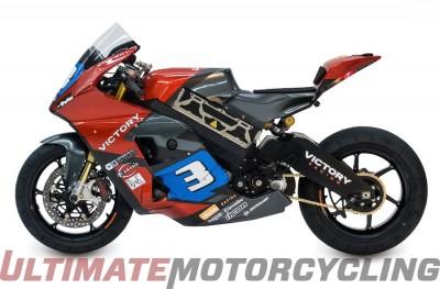 Victory To Race Isle of Man TT Zero on Electric Prototypes Left Side