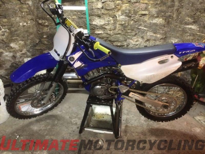 2003 Yamaha TTR125L, Anthony Rosati of PA   Reader's Rides