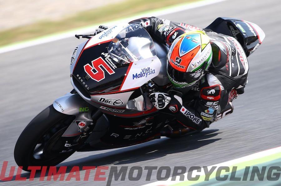 Catalunya Moto2 2015 Results   Zarco Takes 2