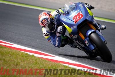 Suzuki's Espargaro Earns Record Pole at Catalunya MotoGP Qualifying Maverick Vinales