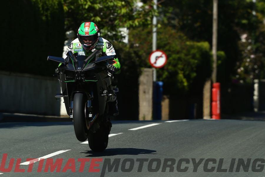 Kawasaki Dual Sport >> Hillier & Ninja H2R Claim Fastest Isle of Man TT Speed ...