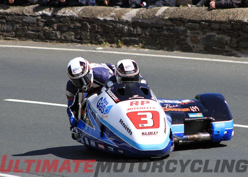 2015 Isle of Man TT Sidecar Race 1 Results - Birchalls 1st
