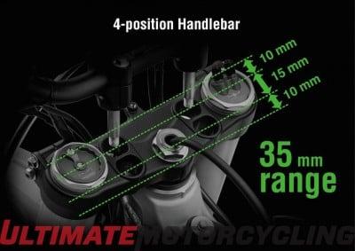 2016 Kawasaki KX450F Preview | More Power, Less Weight handlebar