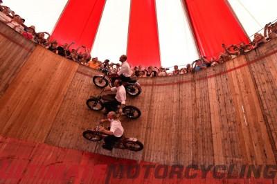 2015 BMW Motorrad Days | 15th Edition Recap & Photos wall of death motodrome