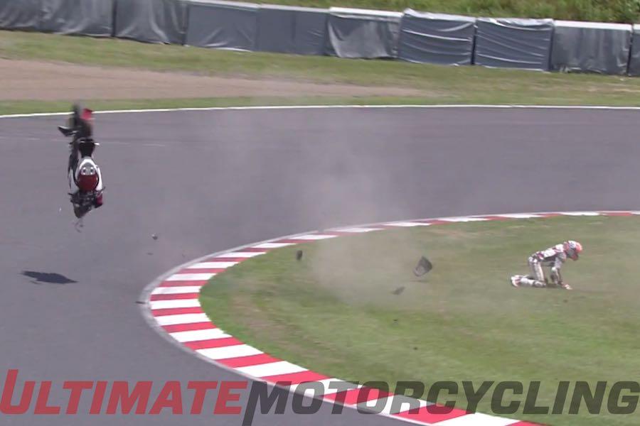 Casey Stoner Suzuka 8 Hours Crash Video & Injury Update