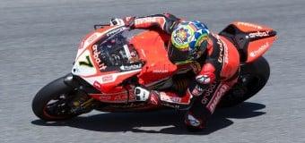 Ducati's Davies Tops Laguna Seca SBK Friday Practice