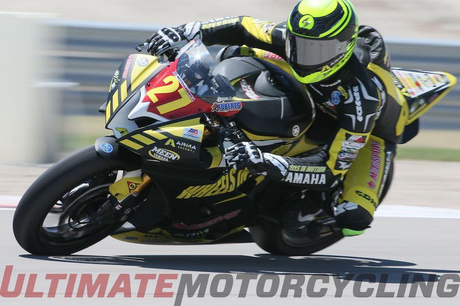 Yamaha's Joe Roberts - 1st-Ever MotoAmerica Champion