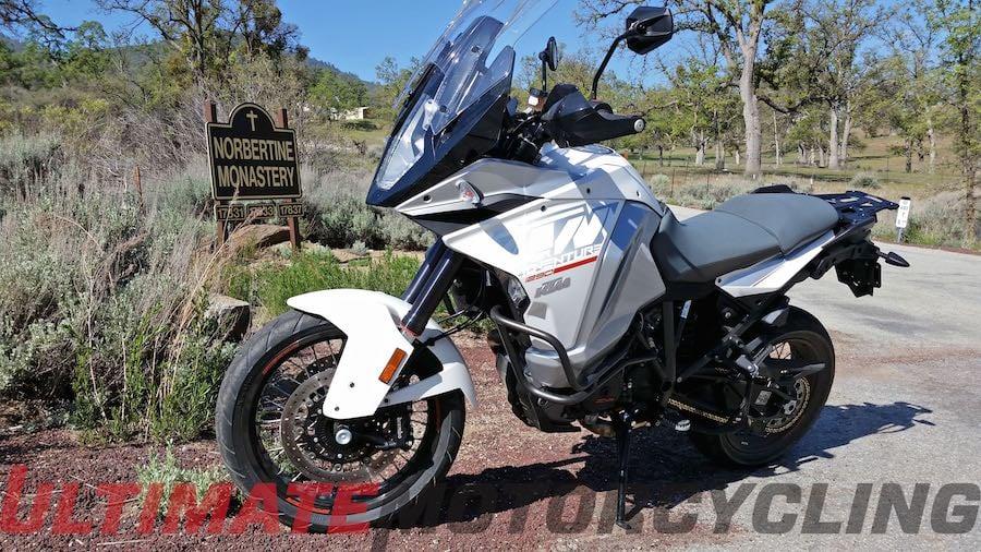 2015 KTM 1290 Super Adventure Review | Touring Monterey Bay