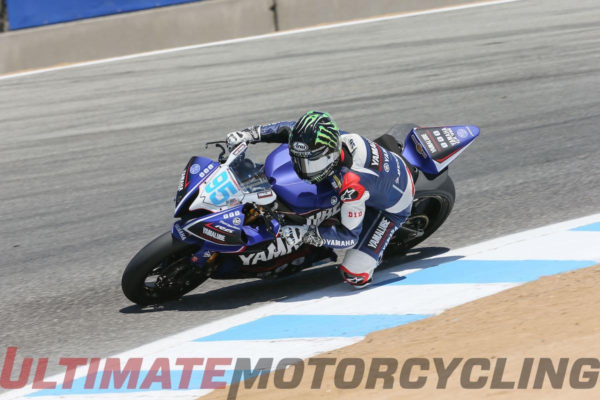 2015 Laguna Seca MotoAmerica Supersport Results   JD Takes 8