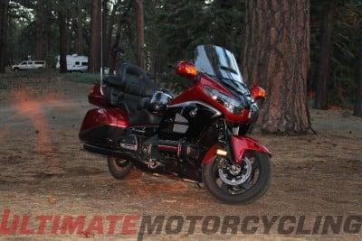 Moto DX Safari – Ham Radio Camping Via Honda Gold Wing right side