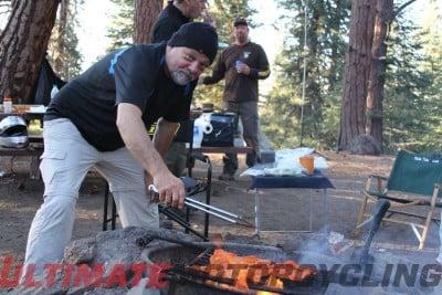 Moto DX Safari – Ham Radio Camping setup