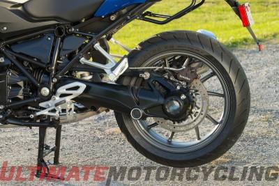 2016 BMW R1200RS Review – Return of a True Sport Tourer rear tire