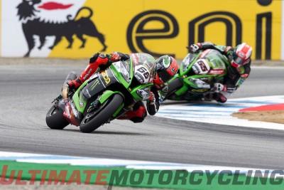 Laguna Seca SBK 2015 Results - Ducati's Davies Doubles