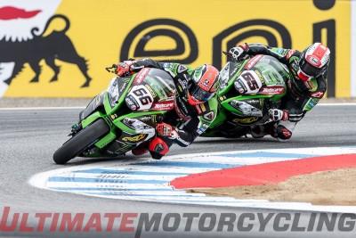 Laguna Seca SBK 2015 Results - Ducati's Davies Doubles Sykes and Rea