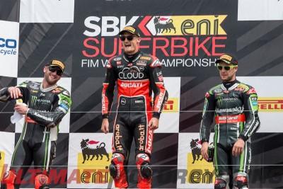 Laguna Seca SBK 2015 Results - Ducati's Davies Doubles podium