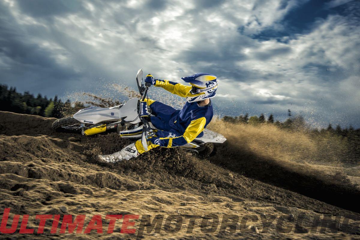 2015 Husqvarna TC 250 Review | 2-Stroke Track & Race Test berm