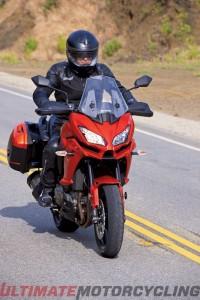 2015 Kawasaki Versys 1000 LT Review | Adventure Style Riding headlight
