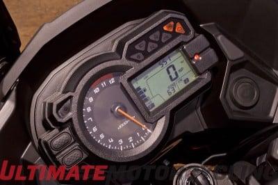 2015 Kawasaki Versys 1000 LT Review | Adventure Style Riding gauges