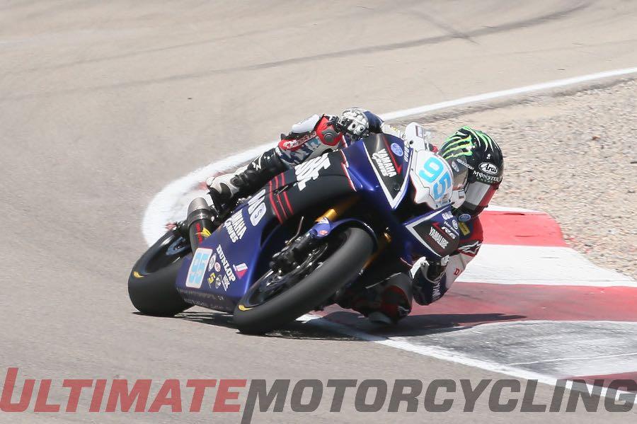2015 MotoAmerica Supersport Champion - JD Beach