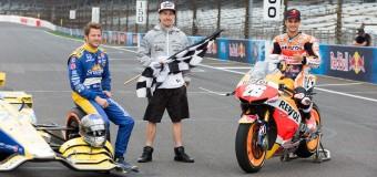 MotoGP Vs. IndyCar | Pedrosa & Andretti Duel at Indianapolis