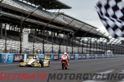 MotoGP Vs. IndyCar   Pedrosa & Andretti Duel at Indianapolis