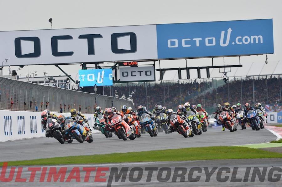 2015 Silverstone Moto2 Results | Another Wet British GP
