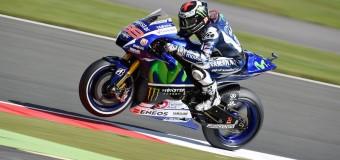 2015 Silverstone MotoGP Friday   Lorenzo Strikes First