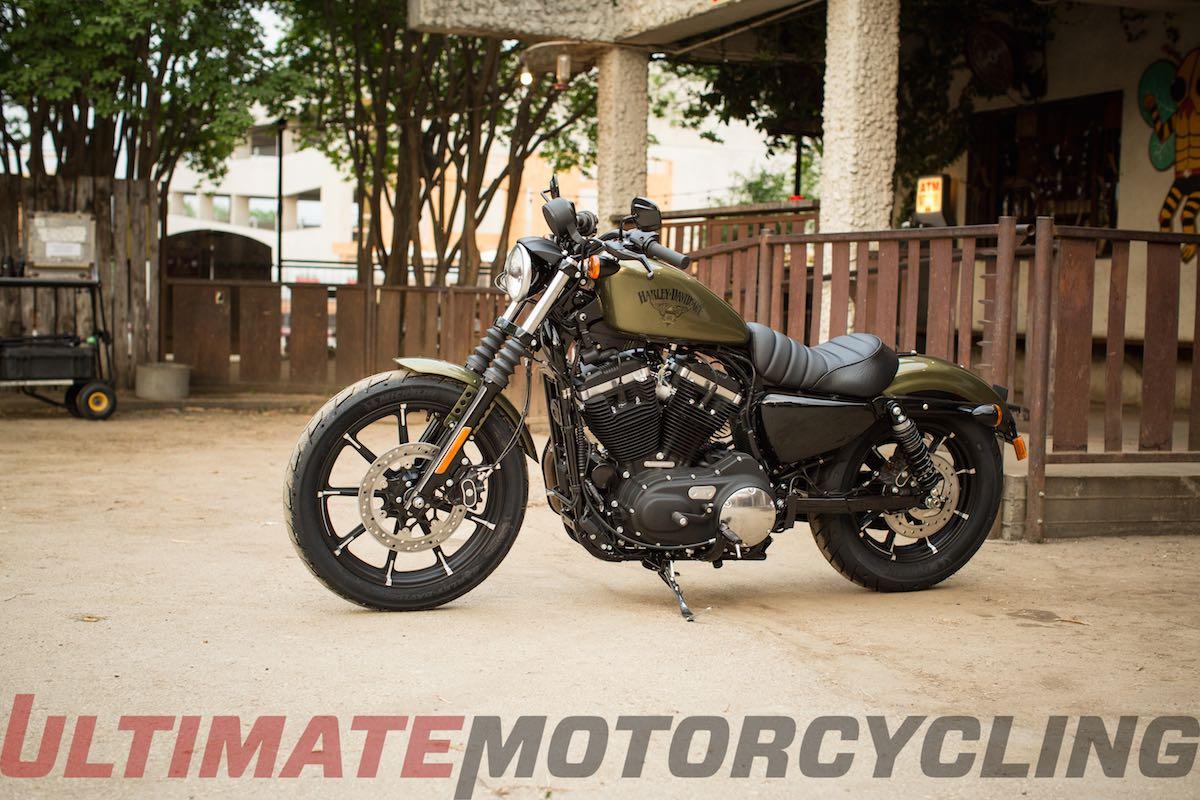 2016 Harley-Davidson Iron 883 Preview   Photos & Specs