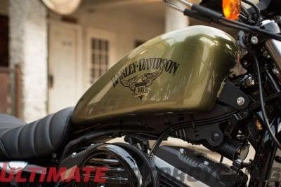 2016 Harley-Davidson Iron 883 Preview   Photos & Specs gas tank
