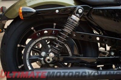 2016 Harley-Davidson Iron 883 Preview   Photos & Specs rear suspension
