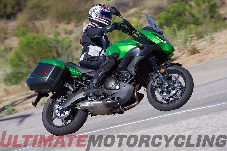 2015 Kawasaki Versys 650 Lt Review True Light Touring