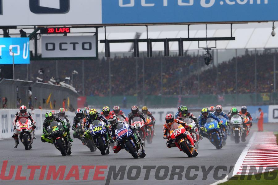 2015 MotoGP Silverstone - Analysis of a Wet British GP