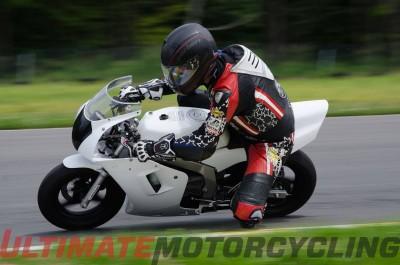 Mini moto at New York Safety Track