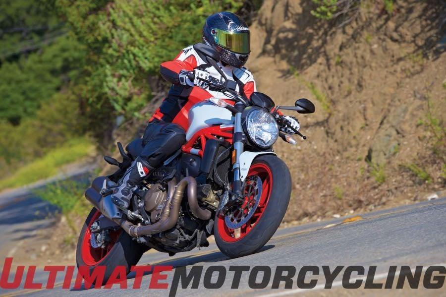 10 Best 2015 Motorcycles   Ducati Monster 821