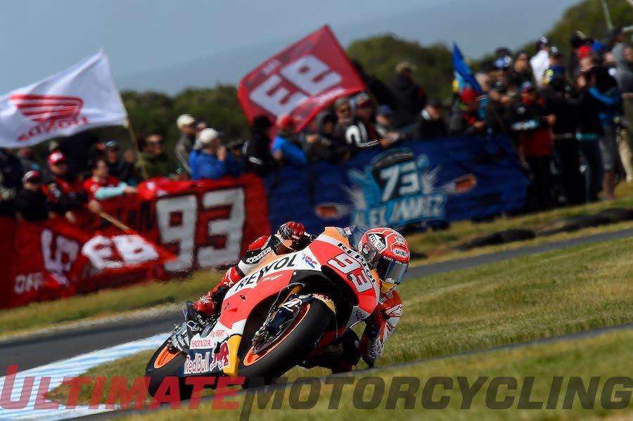 2015 Australia MotoGP Qualifying   Marc Marquez on Pole by 0.3!