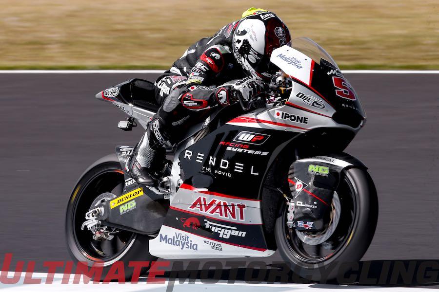 2015 Moto2 Champion - Johann Zarco
